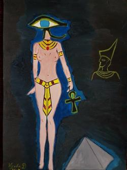 Picturi abstracte/ moderne Cleopatra