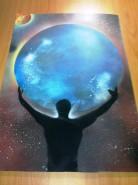 Picturi abstracte/ moderne Planeta omului