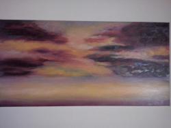 Picturi abstracte/ moderne culorile apusului