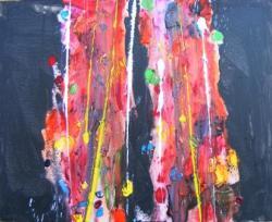 Picturi abstracte/ moderne Miez de noapte