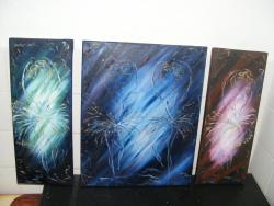 Picturi abstracte/ moderne dansul florilor