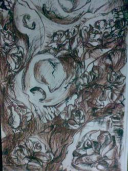 Picturi abstracte/ moderne Cranii