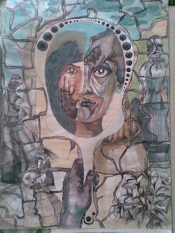 Picturi abstracte/ moderne Origini X