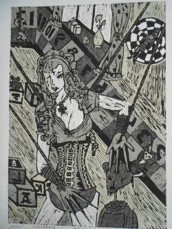 Picturi abstracte/ moderne Urban