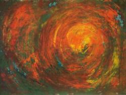 Picturi abstracte/ moderne univers in culori