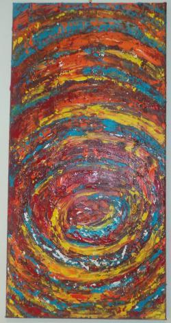 Picturi abstracte/ moderne vortex  de culori
