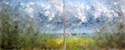 Picturi abstracte/ moderne In apropiere de casa