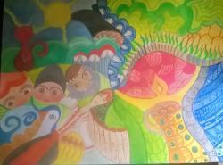 Picturi acuarela De la tara