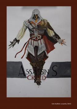 Picturi acuarela Ezio Auditore