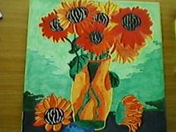 Picturi acuarela Flori de camp