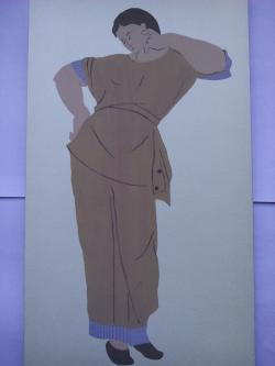 Picturi acuarela Costume Antice 4 Etruscan woman