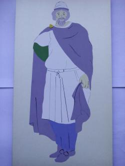 Picturi acuarela Dacians Noble