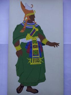 Picturi acuarela The Egyptians Pharaoh