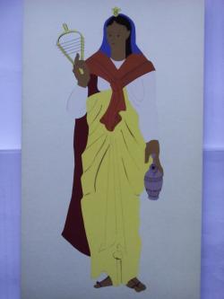 Picturi acuarela The Egyptians Priestess