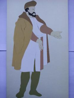 Picturi acuarela The Persians Noble