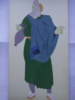 Picturi acuarela The Romans Actor