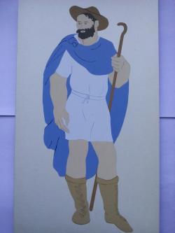 Picturi acuarela The Romans Peasant