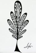 Picturi alb negru Copac 9