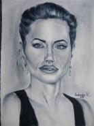 Picturi alb negru Angelina