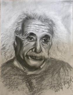 Picturi alb negru EINSTEIN