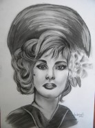 Picturi alb negru Gina