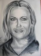 Picturi alb negru Gina pistol
