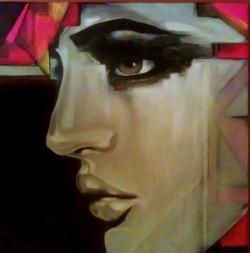 Picturi alb negru Nina