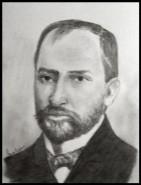Picturi alb negru George cosbuc