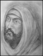 Picturi alb negru Isus 2