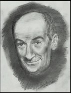 Picturi alb negru Louis de funes