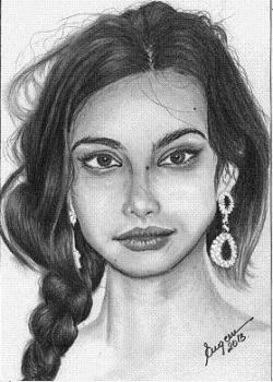 Picturi alb negru Madalina Ghenea