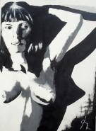 Picturi alb negru Pop art