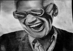 Picturi alb negru Ray charles