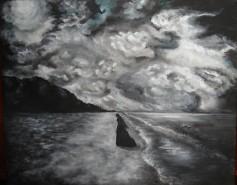 Picturi alb negru Oceans she cries
