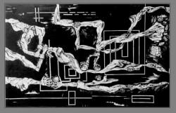 Picturi alb negru Anatomica-brate