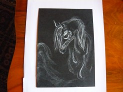 Picturi alb negru Vis
