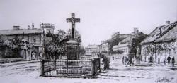Picturi alb negru Vechiul oras-sannicolau-mare