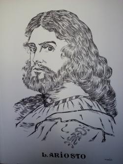 Picturi alb negru Ariosto