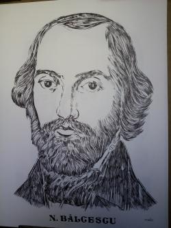 Picturi alb negru Balcescu