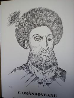 Picturi alb negru Brancoveanu
