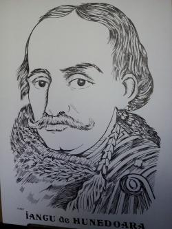 Picturi alb negru Iancu de Hunedoara