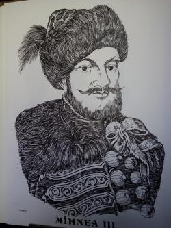 Picturi alb negru Mihnea lll