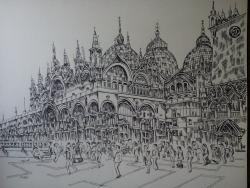 Picturi alb negru Venetia