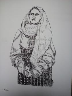 Picturi alb negru pp1 zona Vrancea