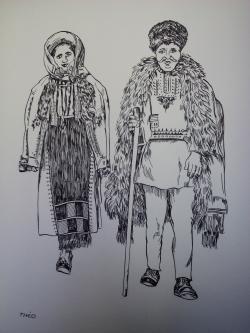 Picturi alb negru pp10 zona Sibiu