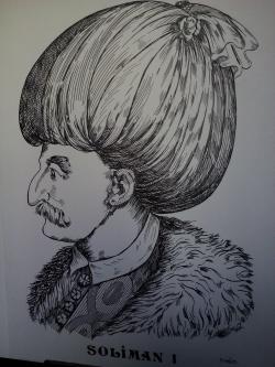 Picturi alb negru Soliman l