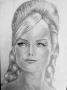 Picturi alb negru Portret