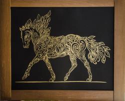 Picturi cu animale Cal ornamentat