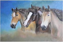 Picturi cu animale Tablou de familie