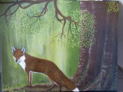 Picturi cu animale vulpea*